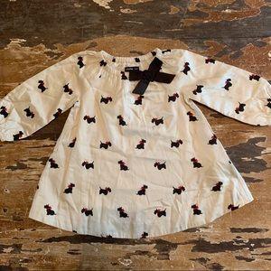 Baby Gap 6-12 month long sleeve dog print shirt